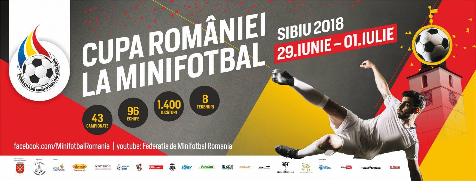cupa romaniei, minifotbal