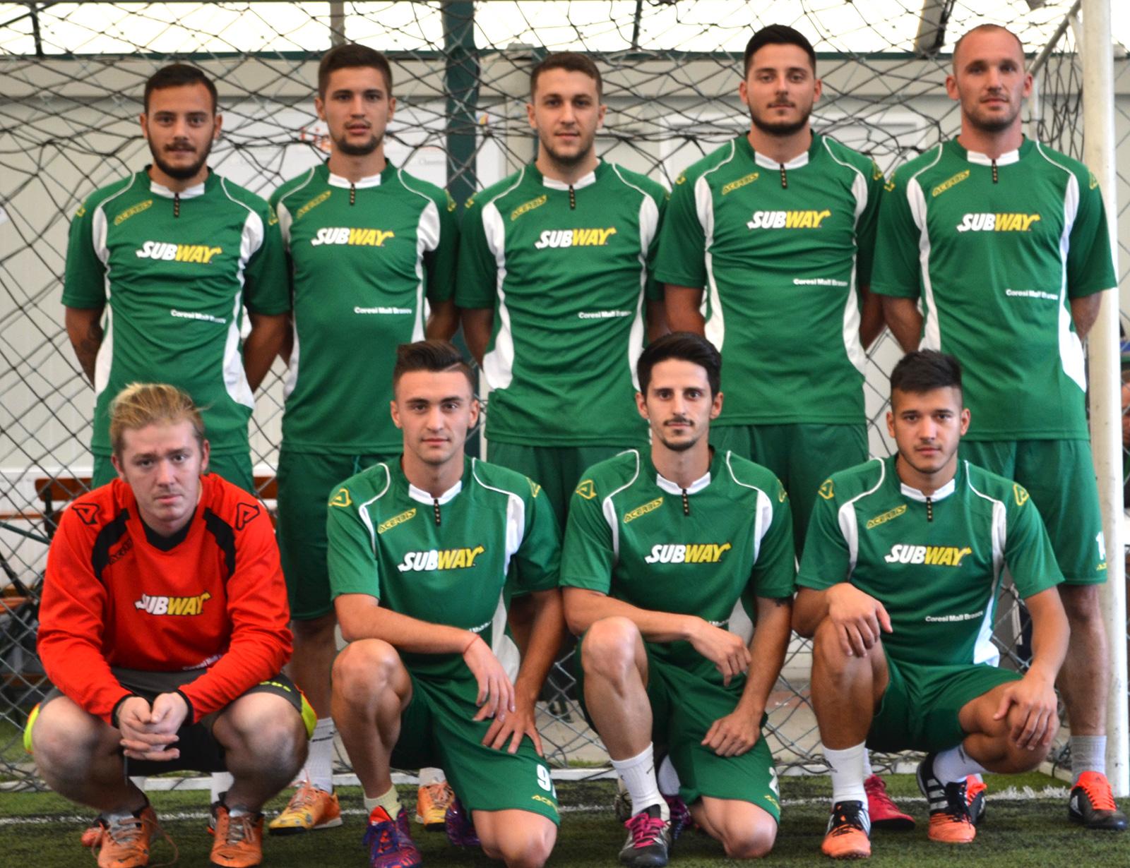 echipa all stars minifotbal brasov