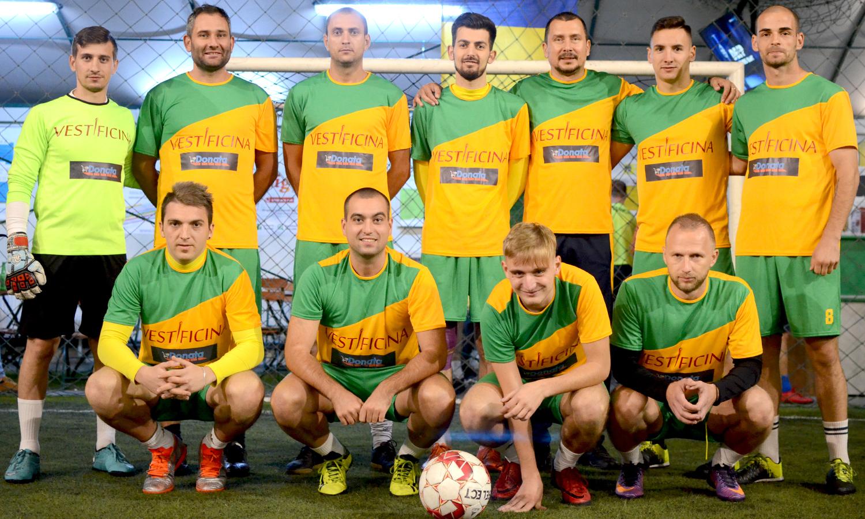 Vestificina, minifotbal